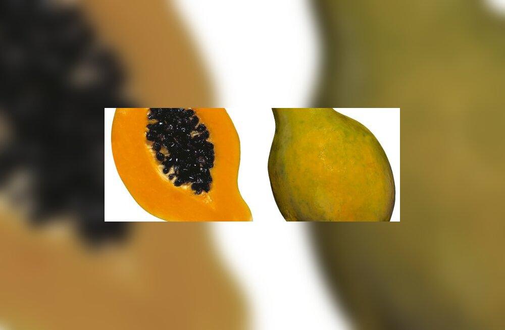 Papaia soodustab seedimist