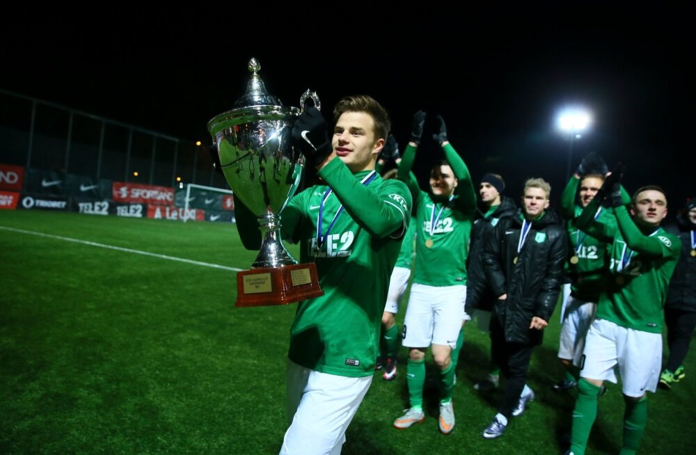 FC Flora võitis superkarika