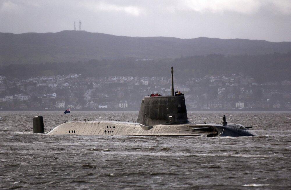 Sunday Times: Briti allveelaeval oli enne raketilööki Süüriale duell Vene allveelaevaga