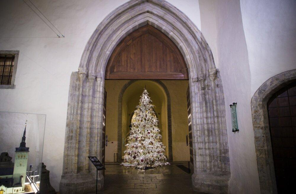 Niguliste kiriku jõulupuu
