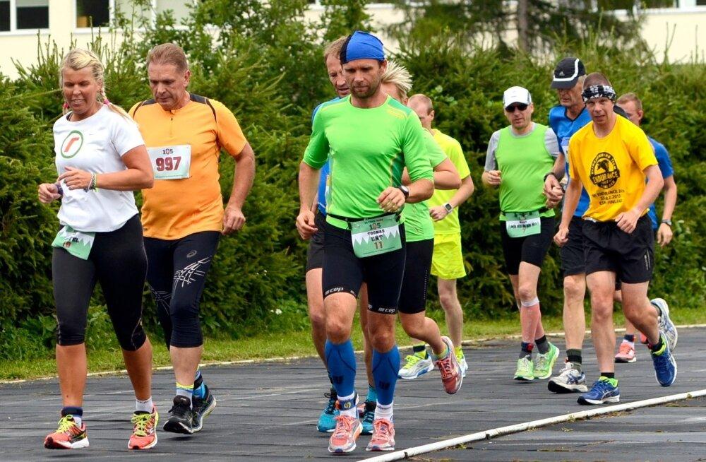 Eestis toimus esmakordselt 24 tunni staadionijooks