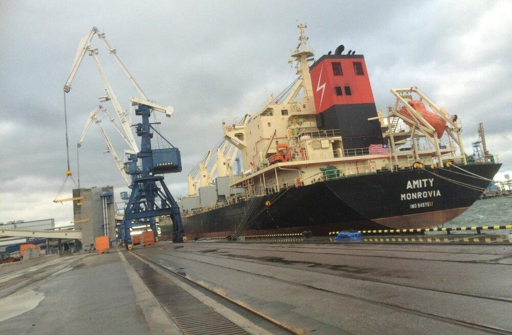 Nädalavahetusel jõudis Muuga sadamasse laev, mis võtab pardale 25 000 tonni kollast hernest ja viib selle Indiasse. Laeva täitmisel teevad koostööd kõik suuremad Eesti viljakauplejad.