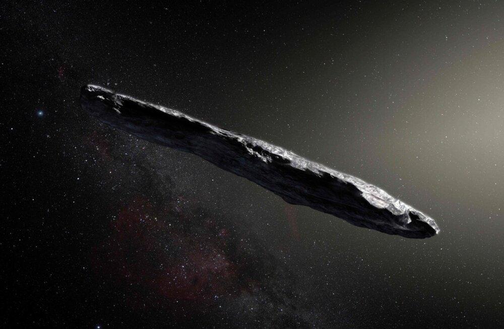 Pilt kaugest külalisest: tähtedevahelisest ruumist Päikesesüsteemi saabunud asteroid Oumuamua meenutab 400 meetri pikkust sigarit