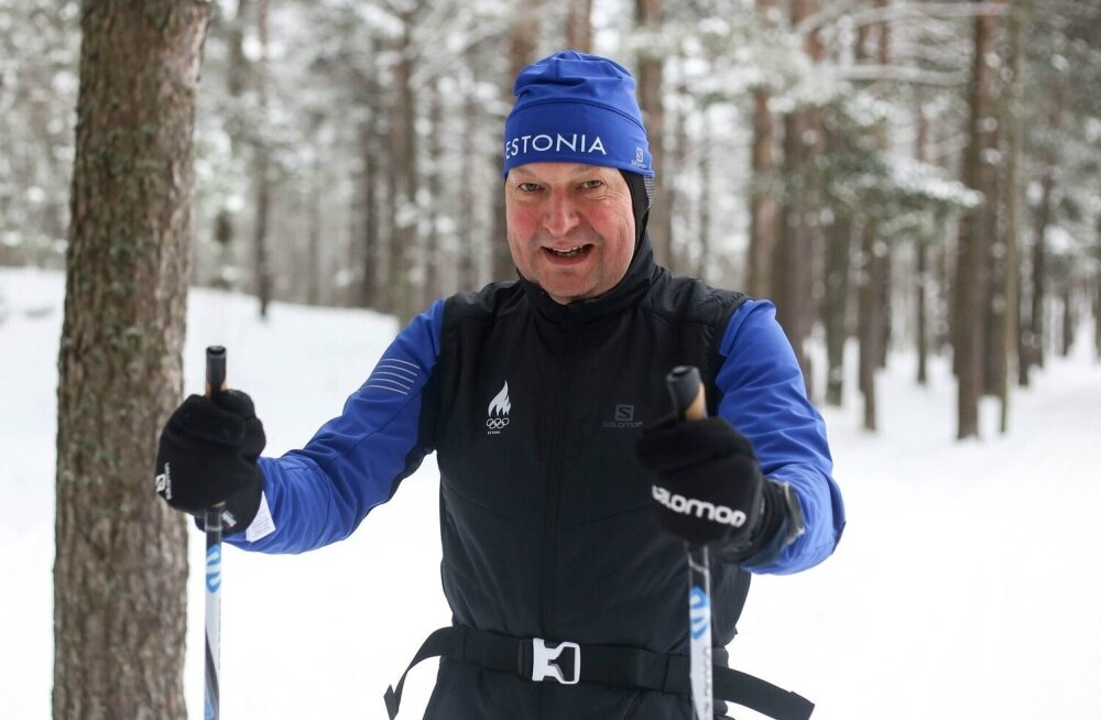 Raivo E. Tamm valmistumas Tartu maratoniks