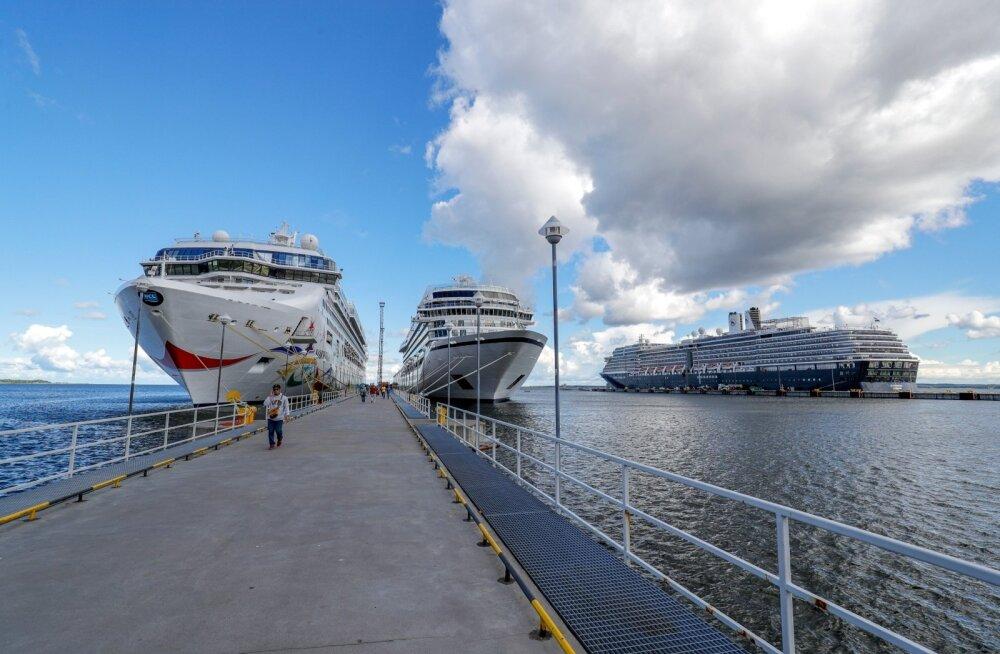 Kruiisilaevad Tallinnas sadamas
