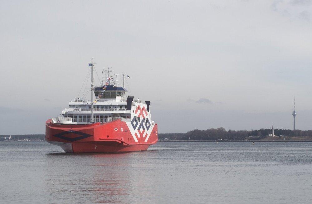TS Laevad teenindas juunis rekordarvu reisijaid ja sõidukeid