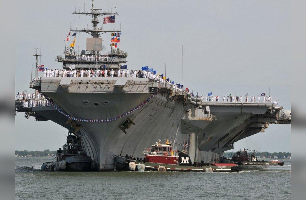 Norfolkis baseeruv USS Enterprise