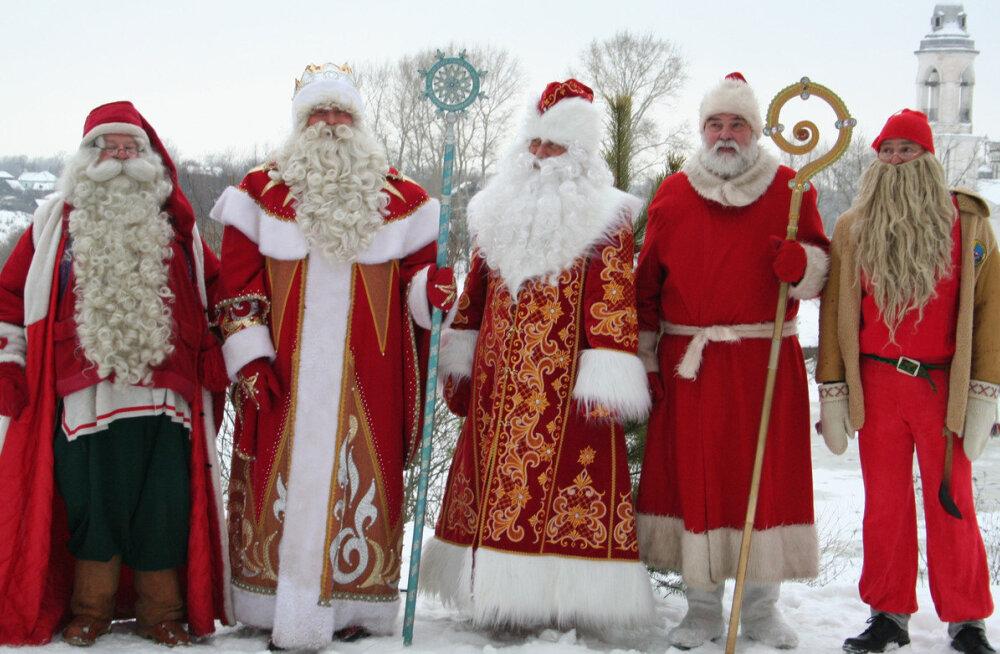 ТЕСТ: Деды Морозы в разных странах мира