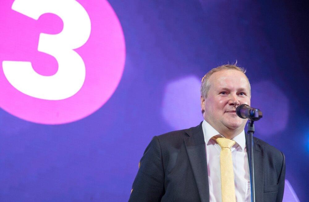 TV3 sügishooaja 2018 pidu