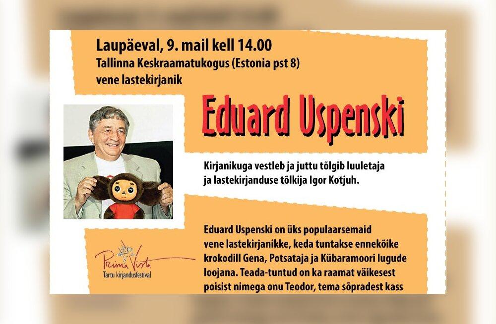 Potsataja ja onu Teodori looja tuleb Tallinna