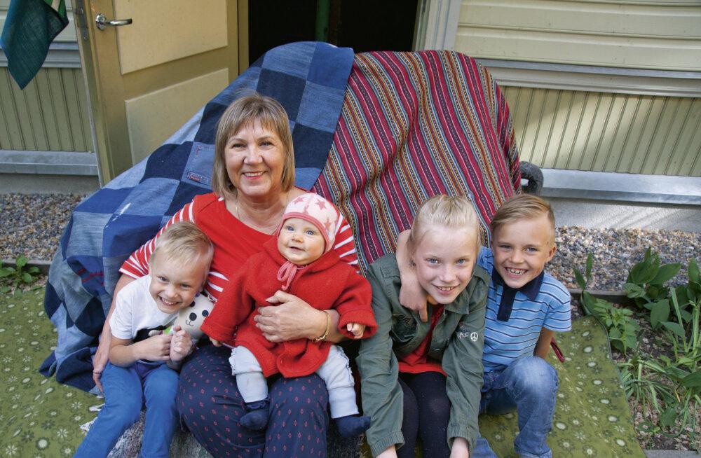 VANAEMA ÕUNAPUU OTSAS ON HARULDUS: Tänapäeva vanavanematel pole lastelaste jaoks aega!