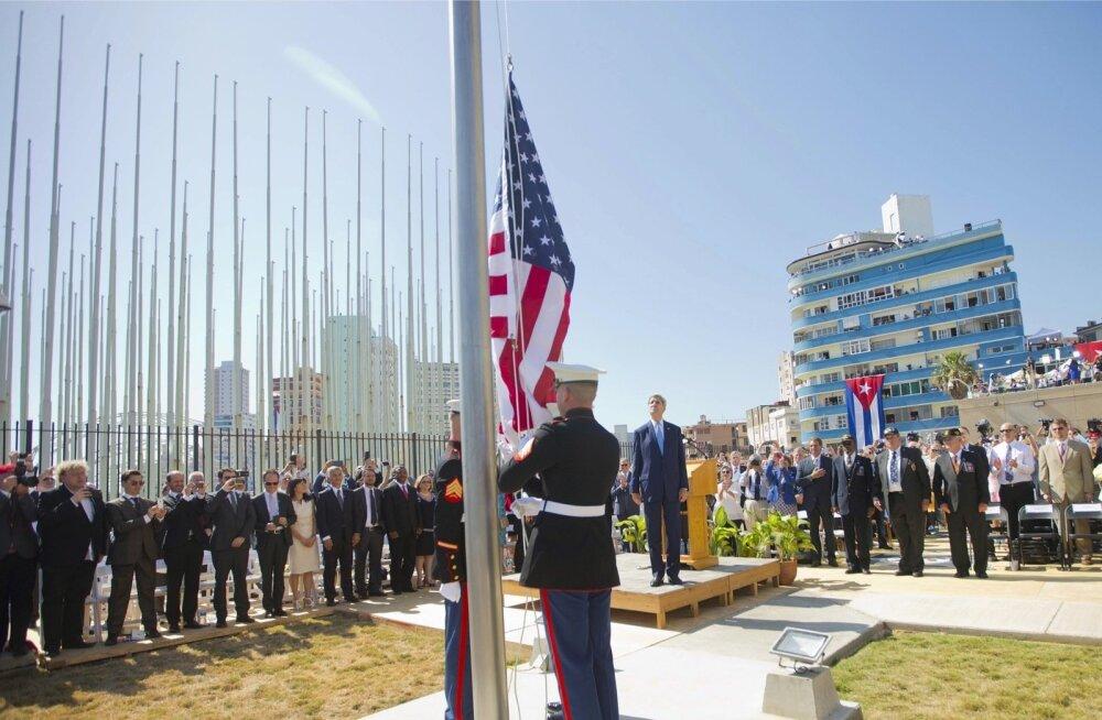 USA Havanna saatkond taasavati 2015. aastal. Kui USA diplomaatide seletamatu haigestumine ei lõpe, võidakse esindus uuesti sulgeda.