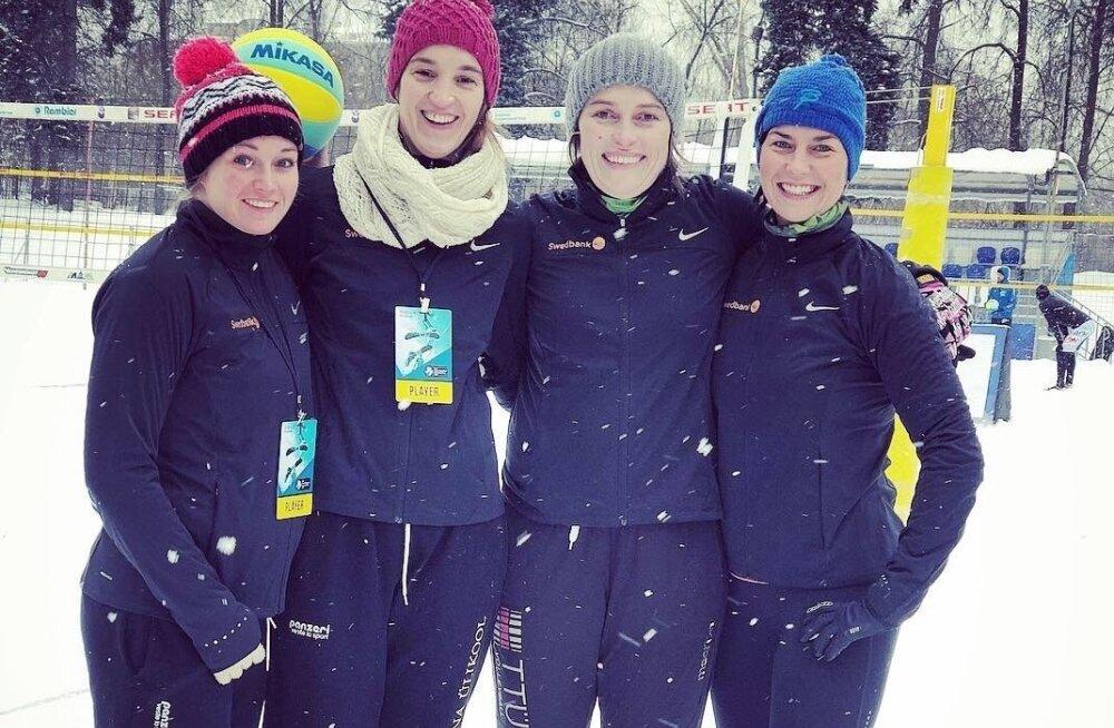 Eesti naiskond Moskva etapil