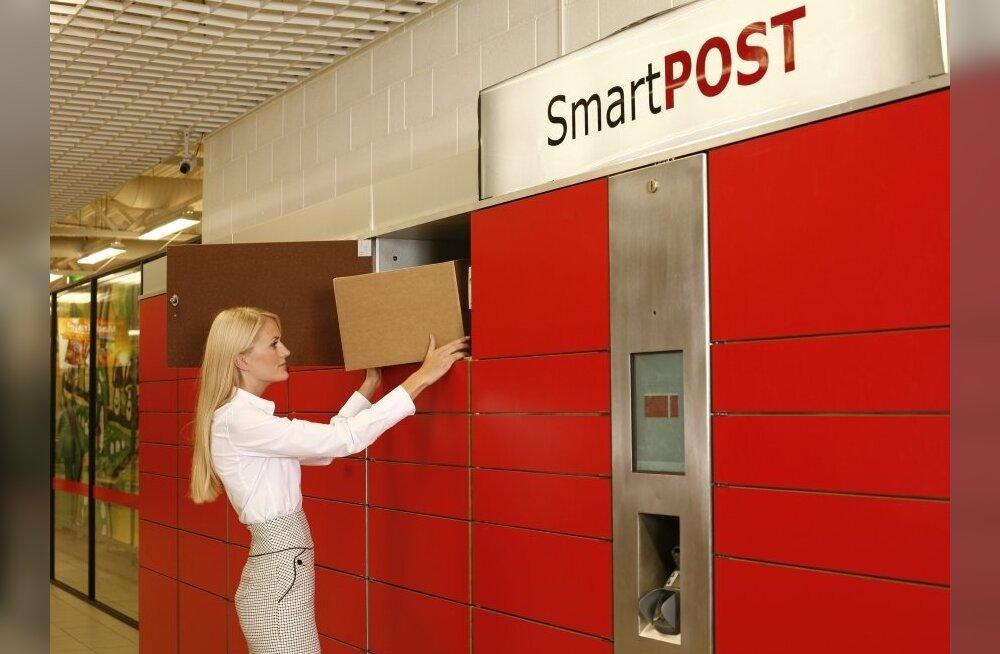 SmartPOST müüb pakiautomaatide võrgu Itellale