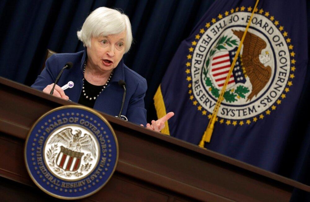 USA keskpanga juht Janet Yellen.