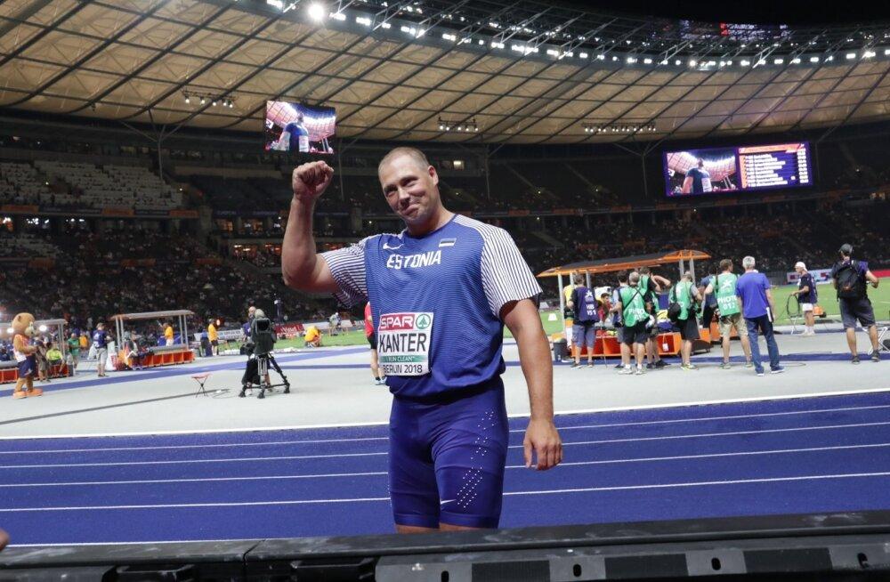 Gerd Kanter lahkus suurelt areenilt väärikalt.