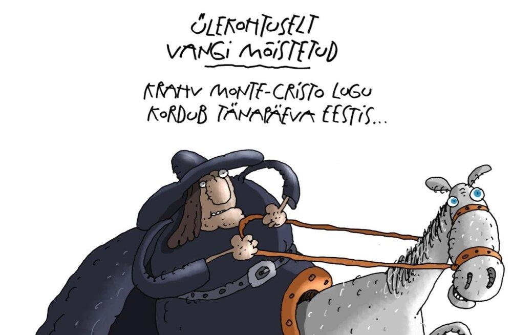 Ülekohtuselt vangi mõistetud krahv Monte-Cristo lugu kordub tänapäeva Eestis.