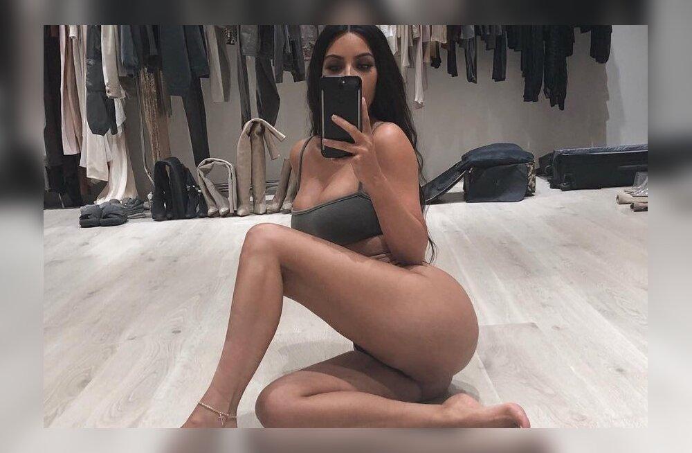 Kim Kardashian nutab oma pepu pärast: see ei meeldi mulle