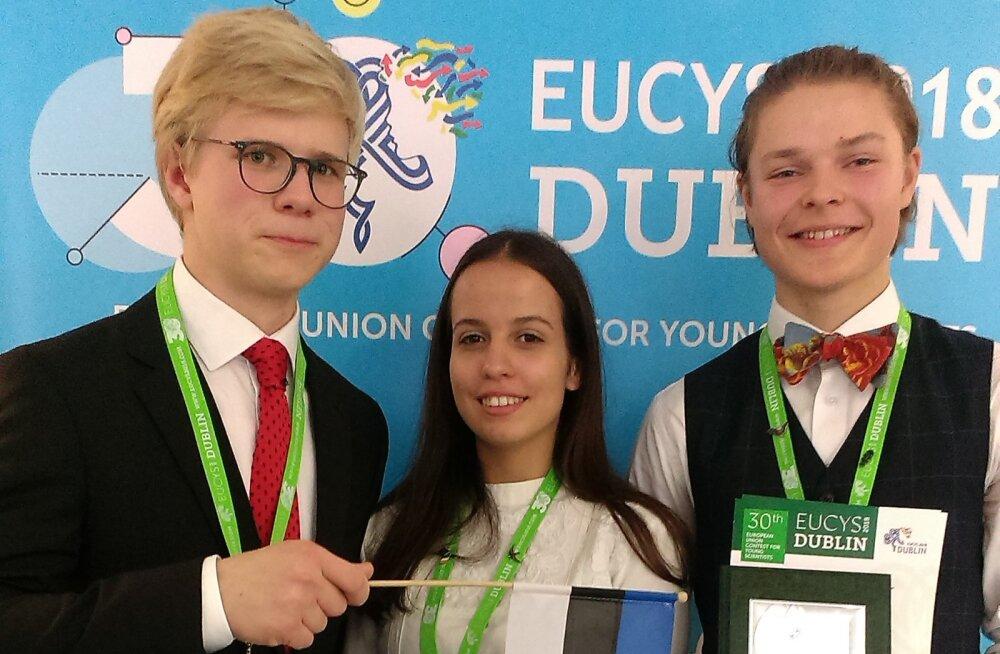 Euroopa Liidu noorteadlaste konkursi võitjate hulgas on ka eestlane