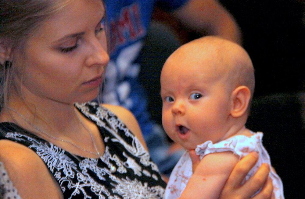 ФОТО: В Кохтла-Ярве чествовали счастливых мам
