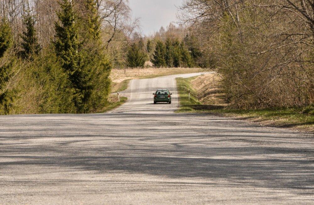 Viljandimaal tabati Paistu-Holstre teelt 30 kiiruseületajat