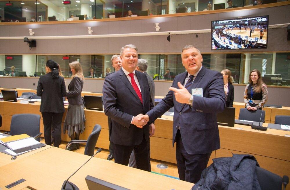 Andrä Rupprechter ja Marko Pomerants.