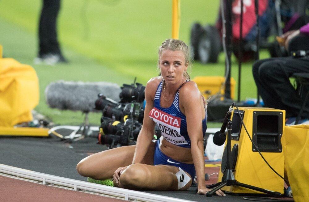London 2017, Naiste mitmevõistlus 800m