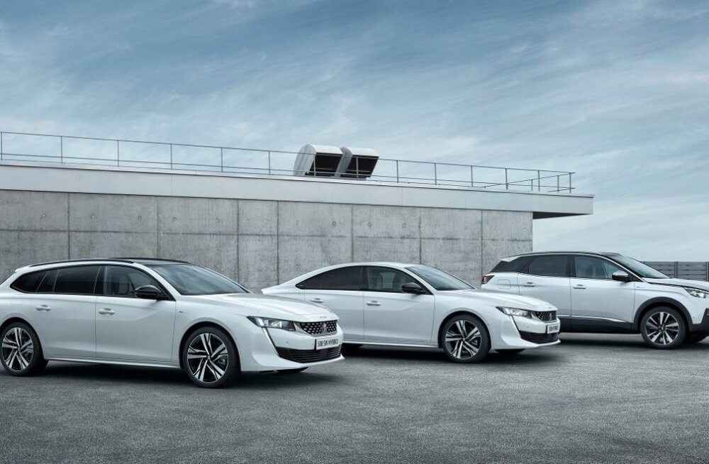 Järgmisel aastal jõuavad Eestis müügile Peugeot' pistikhübriidid