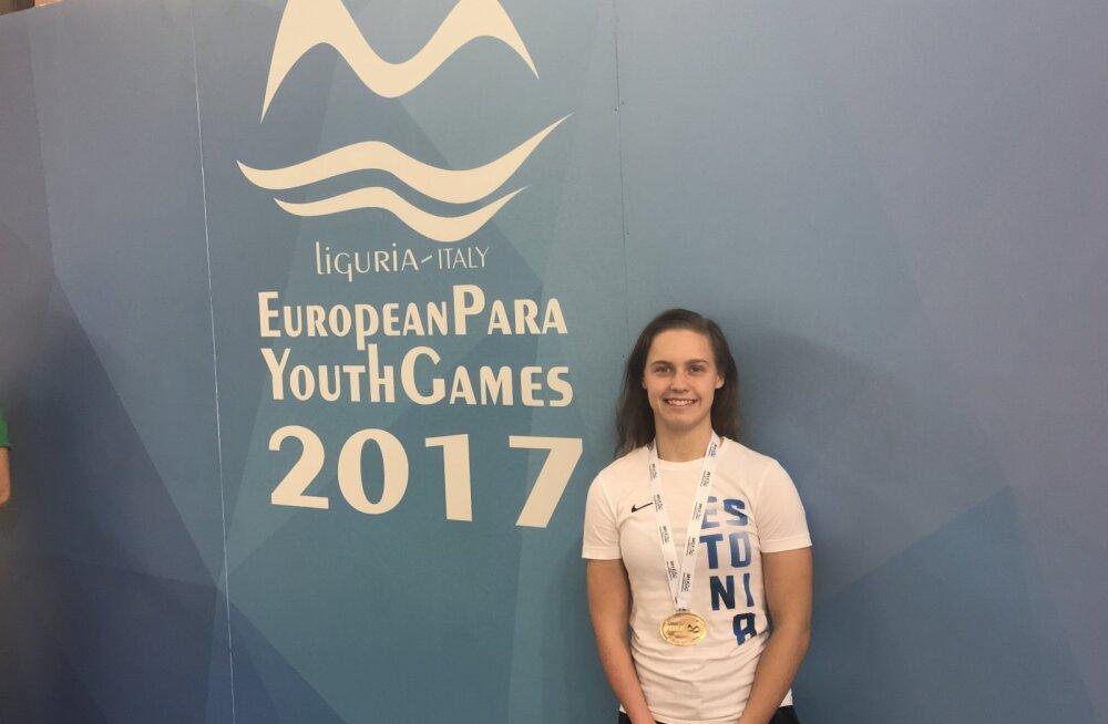 FOTOD   Tublid parasportlased on Euroopa Noorte Mängudel võitnud juba kolm medalit