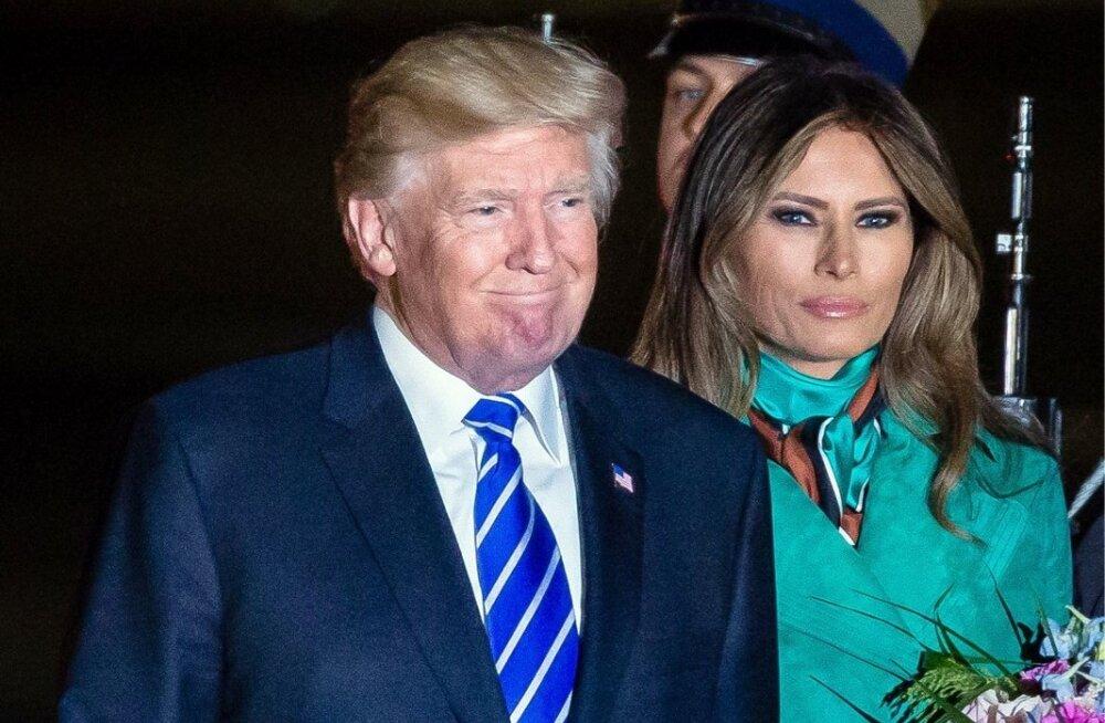 Trump väisab Poolat
