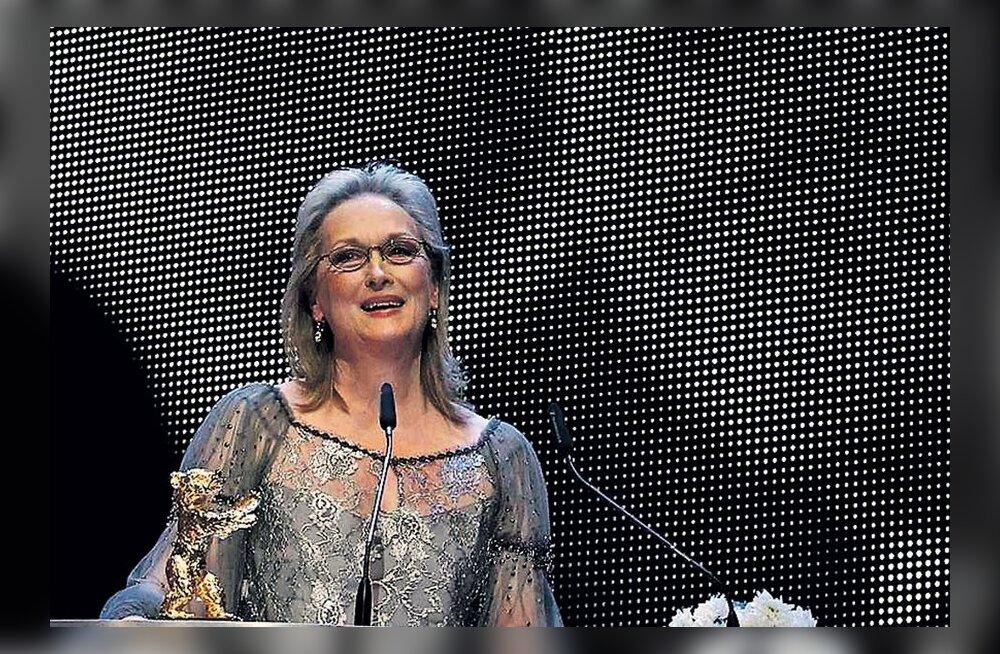 Meryl Streepi näoga Raudne Leedi jõudis Eestisse