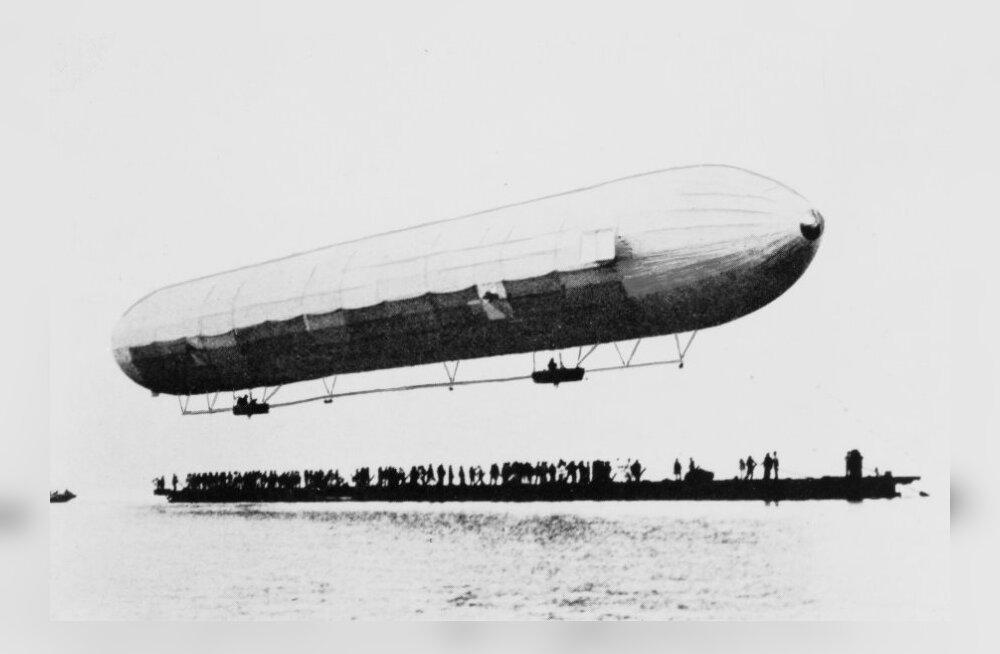 Esimese tsepeliini lennust kuni Hindenburgi hukuni - oli selline ajastu enne lennukeid