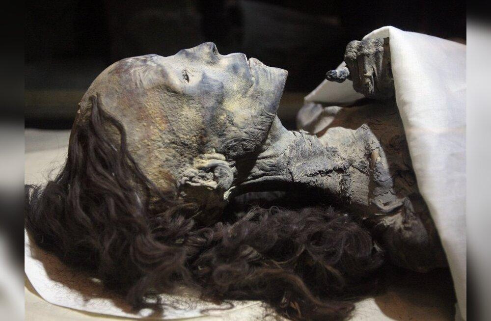 Malaariasse surnud Egiptuse kuninganna muumia