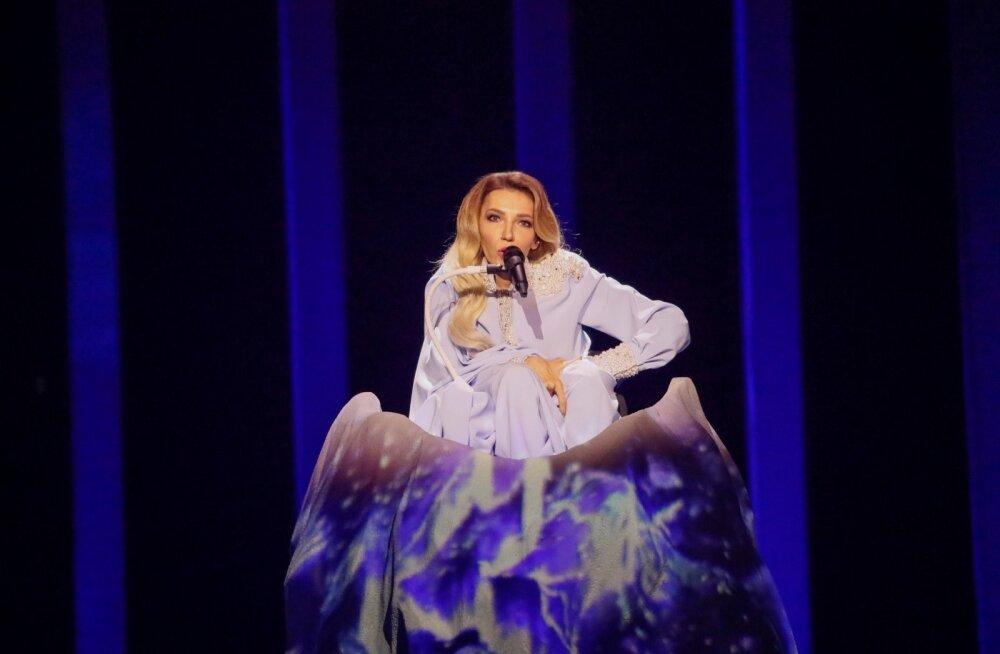 Eurovision 2018 2 poolfinaal zürii läbimäng