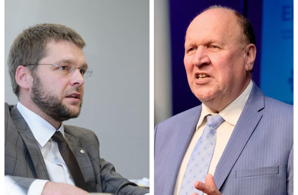 Jevgeni Ossinovski ja Mart Helme
