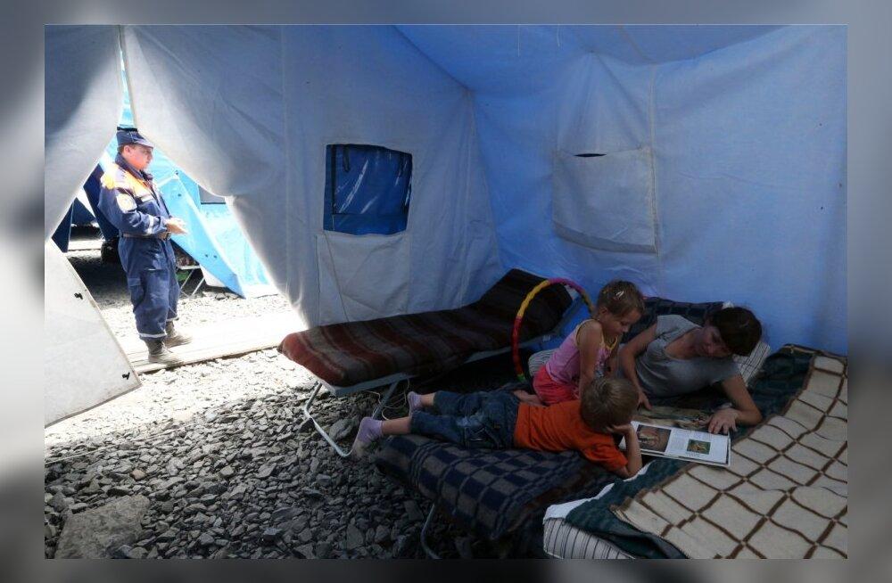 DELFI UKRAINAS: Väike Eesti aitab lahendada sisepõgenike suurt muret