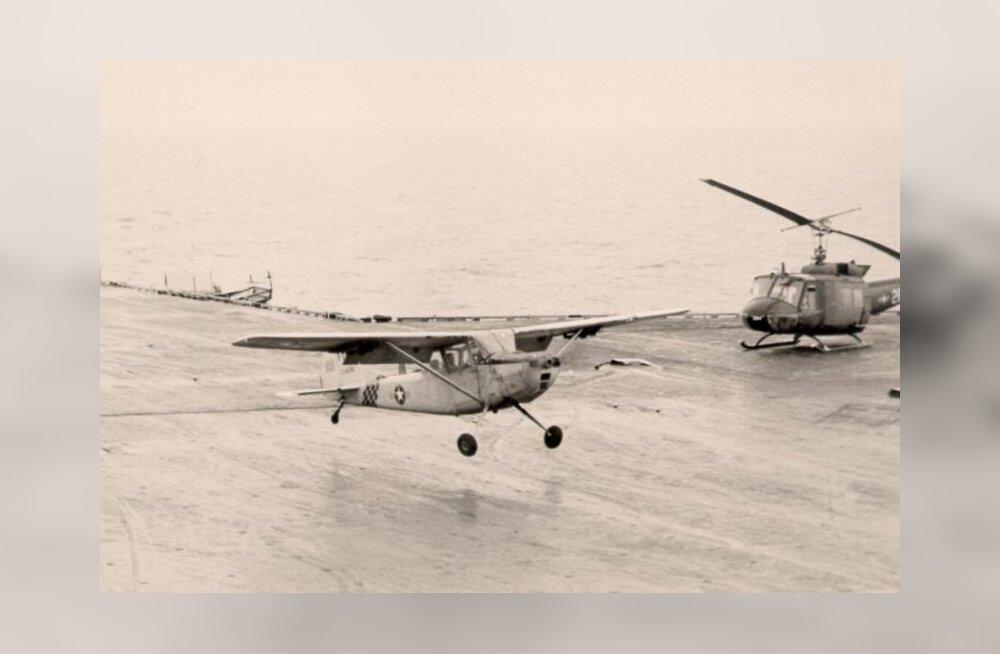 Ajalooline kurioosum: USA merevägi uputas miljonite dollarite eest helikoptereid ookeani, et päästa üht perekonda