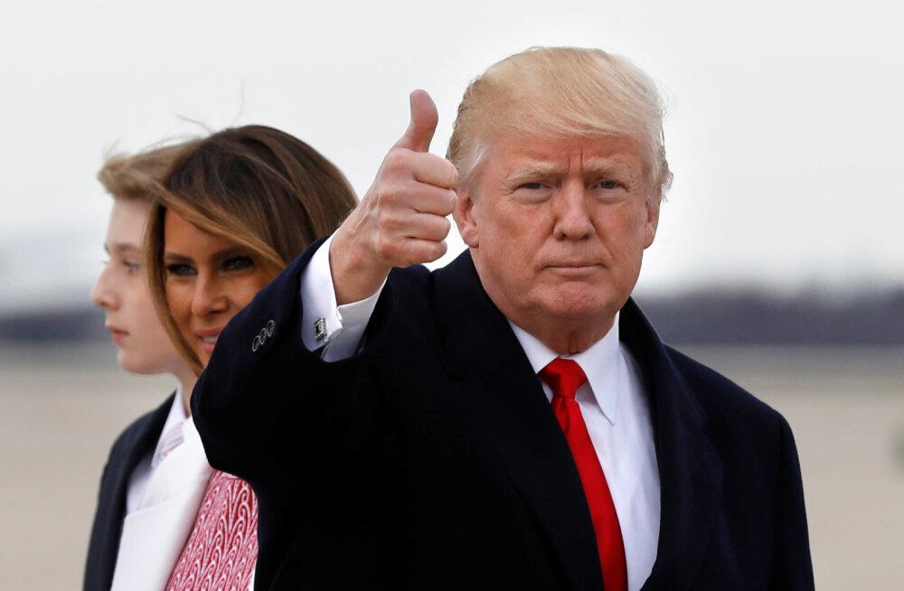President Donald Trump kuulutas aprillikuu riiklikuks seksuaalse ahistamise vastaseks kuuks vaatamata sellele, et 19 naist süüdistavad teda just enese kuritarvitamises