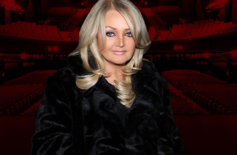 Tagasihoidlik staar! Bonnie Tylerile ei meeldi limusiinid, ta soovib Eestis sõita hoopis bussiga