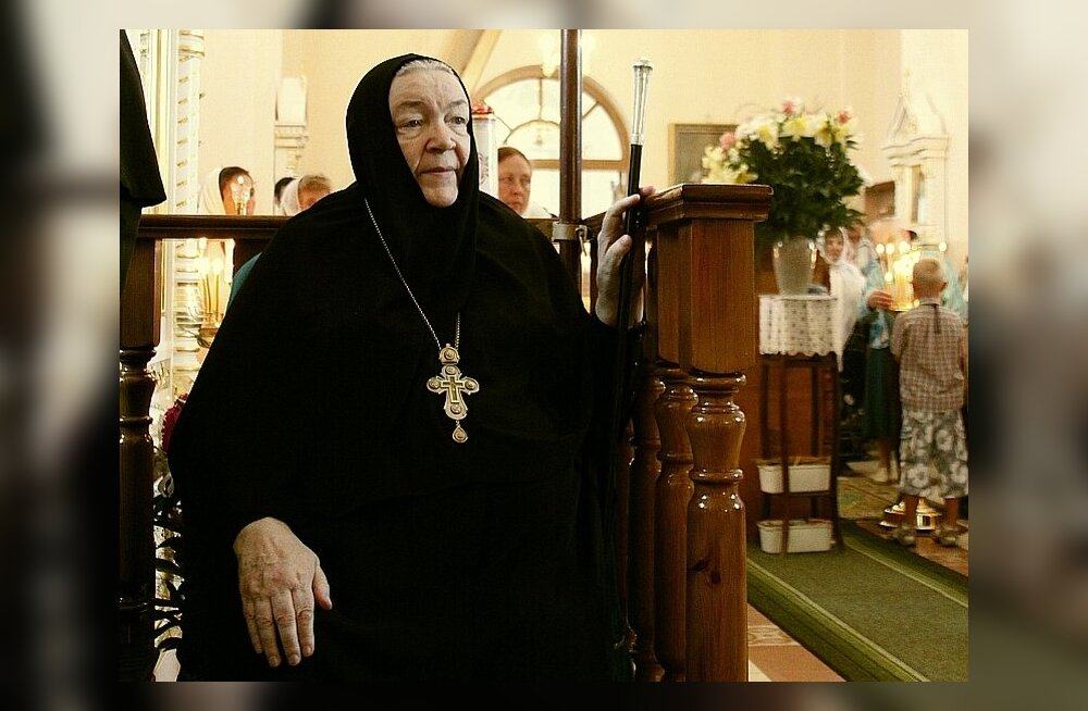 Покинула наш мир игуменья Пюхтицкого монастыря Варвара