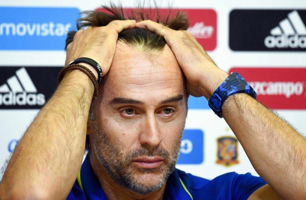 Uskumatu, aga tõsi: Hispaania koondis vallandas päev enne MM-i algust peatreeneri!