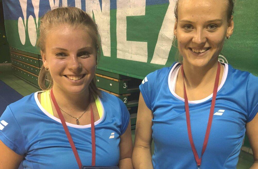 Helina Rüütel ja Kristin Kuuba