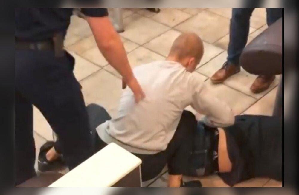 В центре Таллинна произошло еще одно нападение с участием несовершеннолетних грабителей