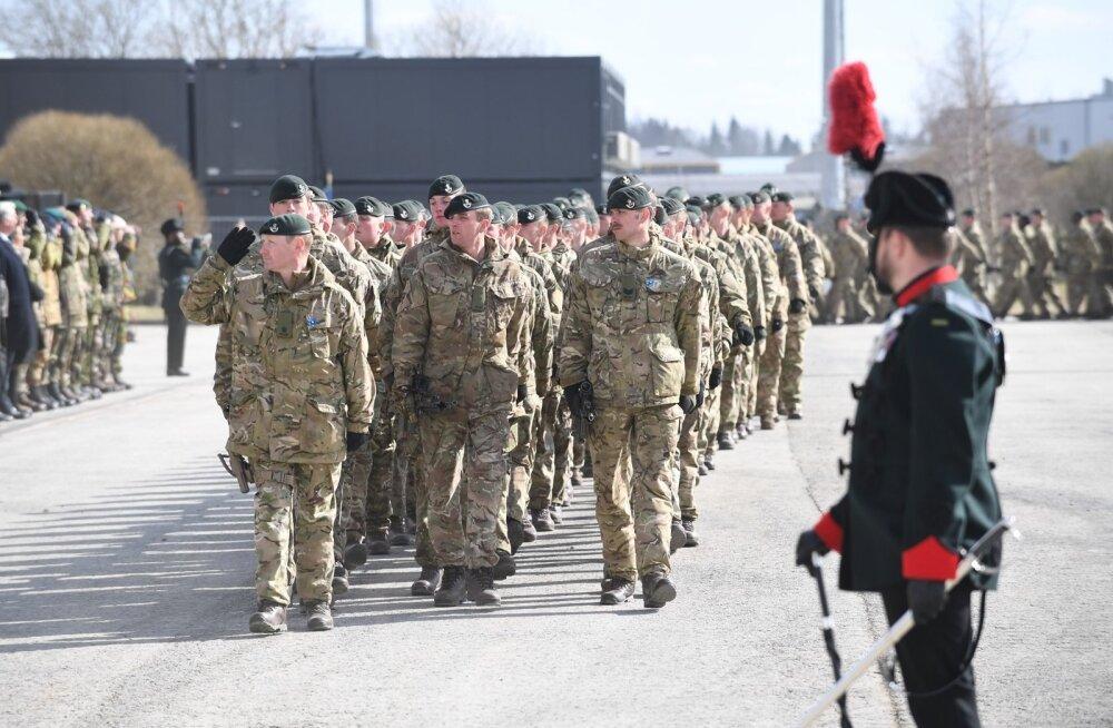 ГЛАВНОЕ ЗА ДЕНЬ: Торжественное построение солдат НАТО в Тапа и вызвавшее шквал эмоций интервью Ратаса