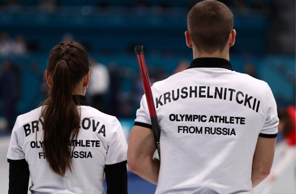 Anastasia Bryzgalova ja Alexander Krushelnitski