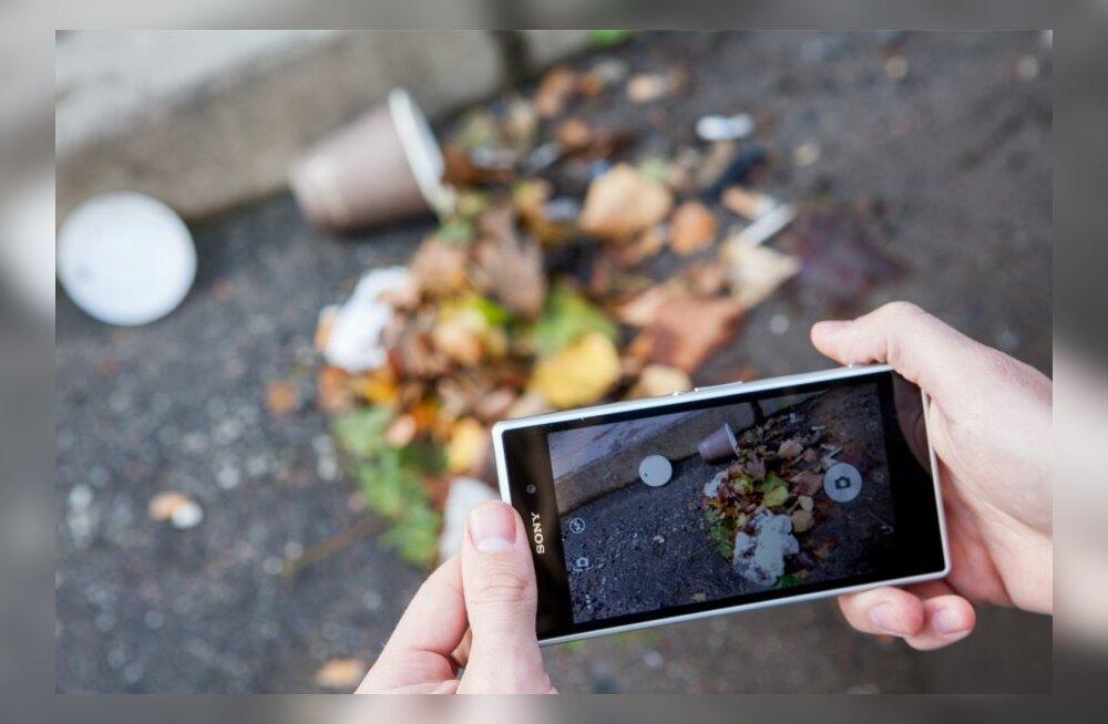 Uus mobiiliäpp näitab, kuhu praht viia