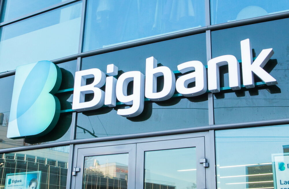 Кредитный портфель Bigbank за год увеличился на 37 миллионов евро
