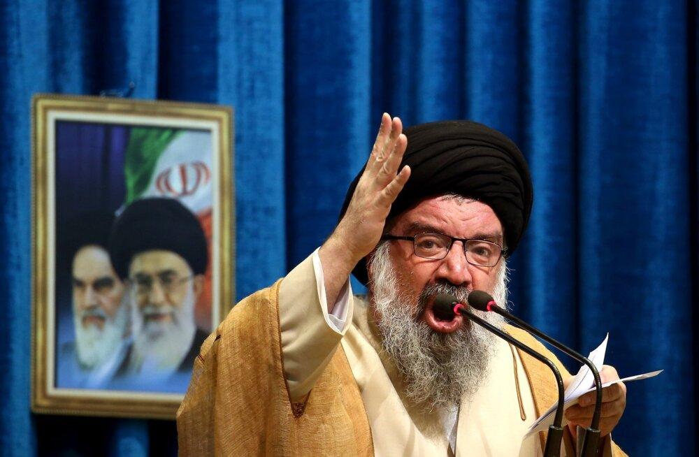 Iraani vaimulik Ahmad Khatami soovitab Iraanil luua oma sotsiaalmeediarakendused, sest praegu kasutusel olevad on massirahutuste põhjus.