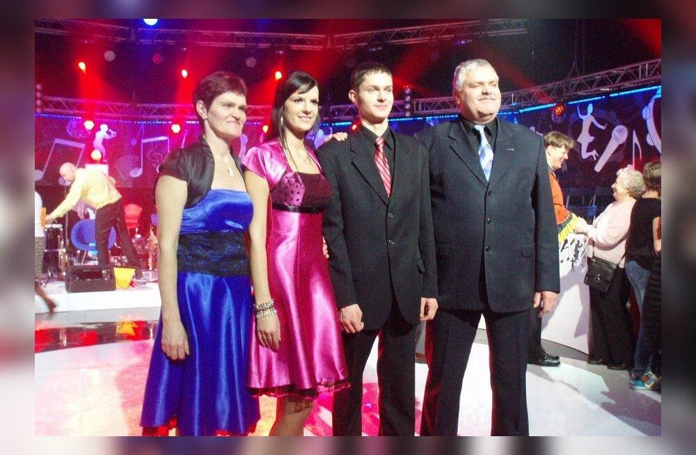 Liia Koorts, Rauno Koorts, Triinu Täpsi ja Kalev Kurs