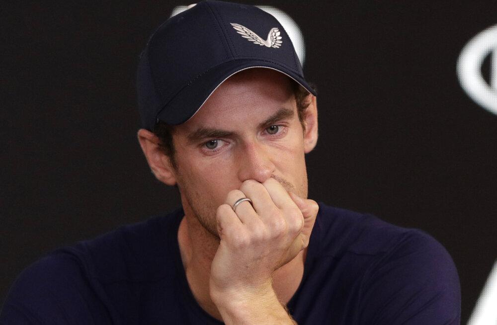 VIDEO | Andy Murray teatas pisarsilmi karjääri peatsest lõpetamisest, Australian Open võib jääda tema viimaseks turniiriks